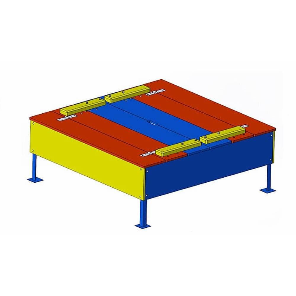 Детская игровая песочница (с крышкой)1