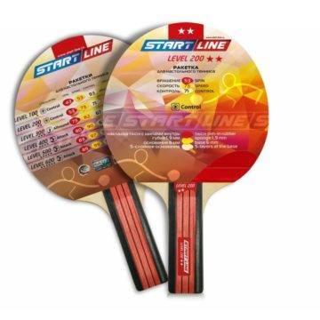 Ракетка для настольного тенниса Level 200 (прямая)