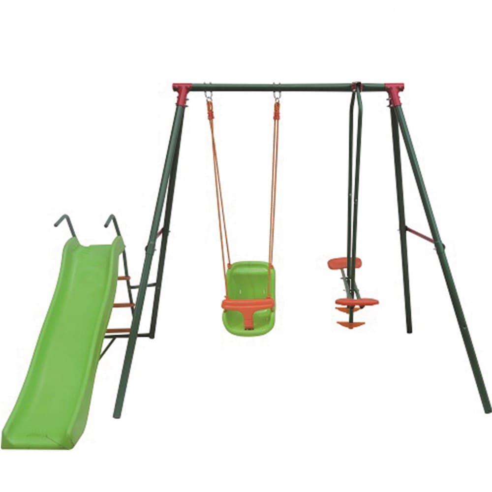 Детский комплекс с горкой GBN-02