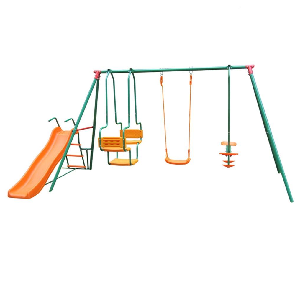 Детский комплекс с горкой MSGL-01