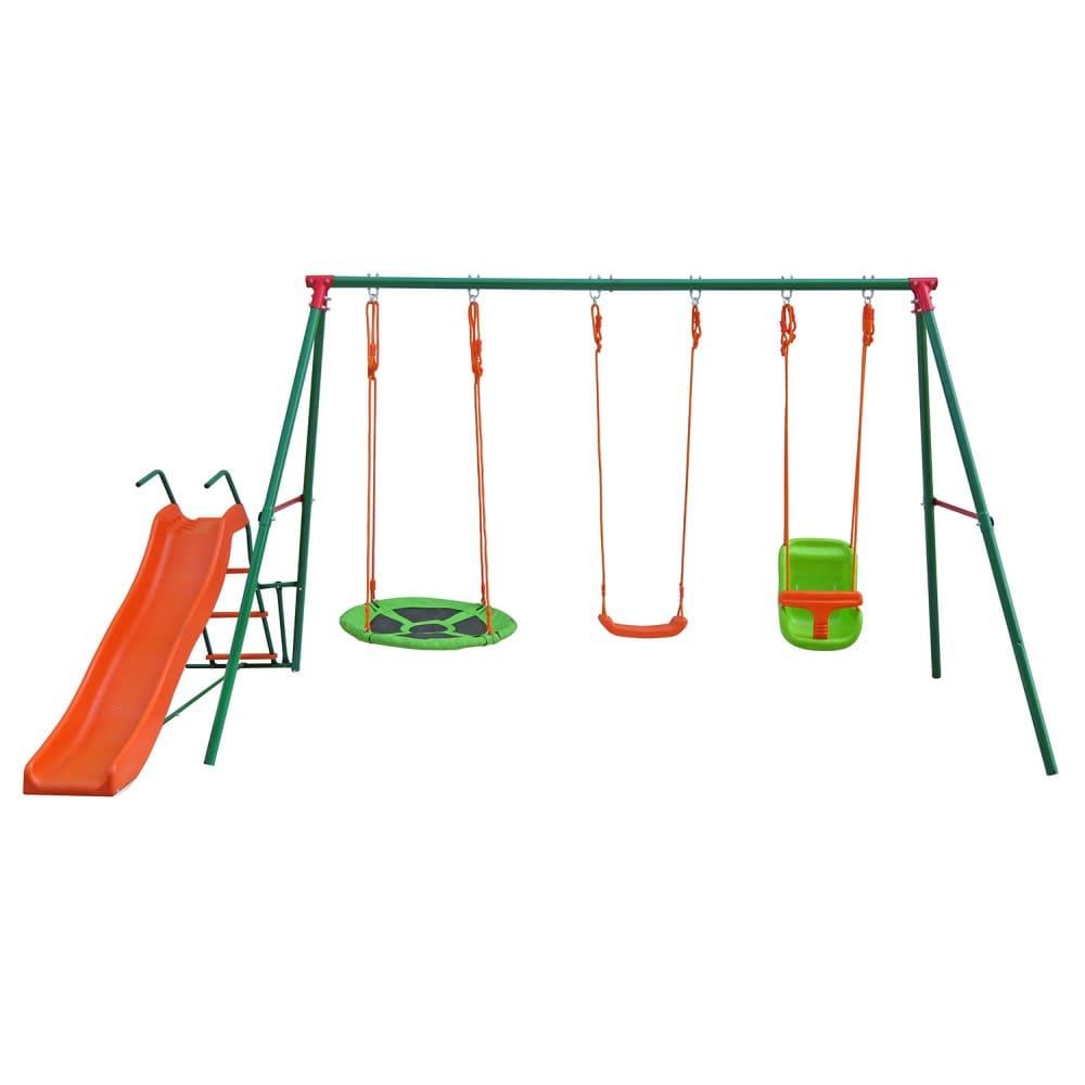 Детский комплекс с горкой SBN-03