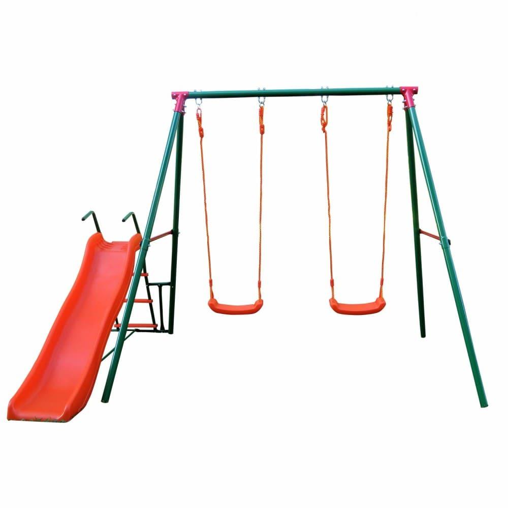 Детский комплекс c горкой MSS-01