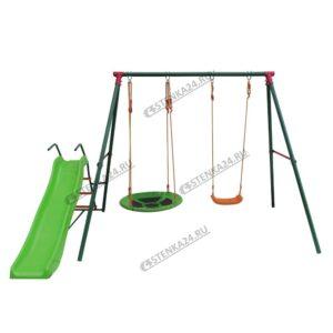 Детский комплекс c горкой MSS-02