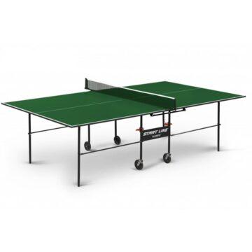 Теннисный стол Olympic с сеткой зеленый